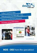 MDEfox Brochure in Englisch